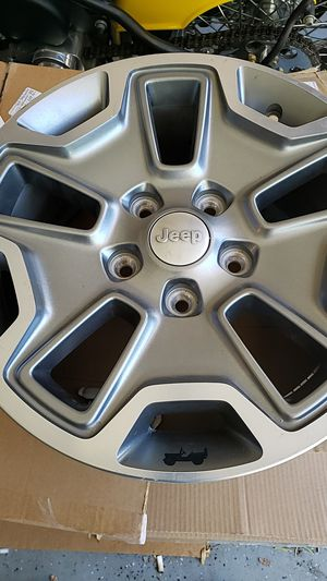 Jeep parts rubicon rims for Sale in Las Vegas, NV