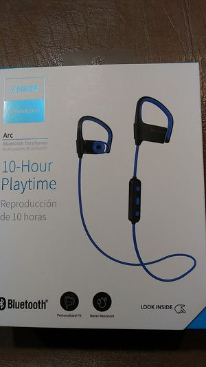 Anker soundcore arc 10 hour playtime wireless earbuds for Sale in Ontario, CA