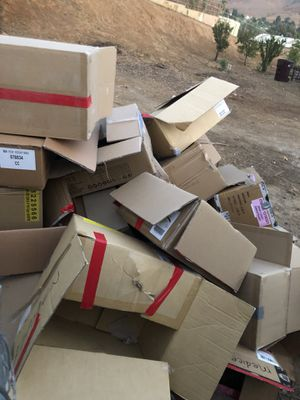 Free moving boxes for Sale in Norco, CA