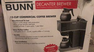 COFFEE MAKER COMMERCIAL GRADE BUNN 12 CUP BREWER * NEW * for Sale in Las Vegas, NV