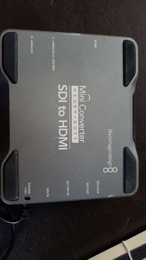 Blackmagic Design Mini Converter Heavy Duty - HD/SDI to HDMI for Sale in Los Angeles, CA