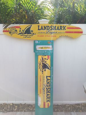 Margaritaville Beer Sign (Surfboard)LandShark New In Box for Sale in Fort Lauderdale, FL