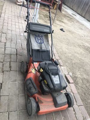 Husqvarna gas lawn mower barely used for Sale in San Jose, CA
