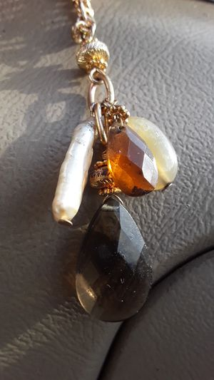 """GENUINE STONES ON A 22"""" GOLD CHAIN for Sale in Colorado Springs, CO"""