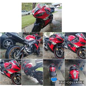 I sell motorcycle Model is yamaha r6 the year 2003 in good condition and with title $ 3300 and we can negotiate the price for Sale in Humble, TX