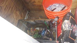 10 gallon aquarium + all supplies for Sale in Seattle, WA