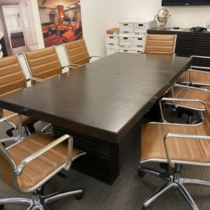 Conference Table with Credenza (set) for Sale in Newport Beach, CA