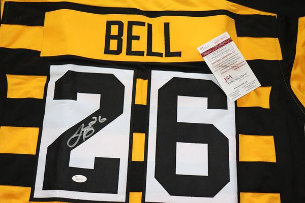 Le'Veon Bell Signed Steelers Throwback Jersey