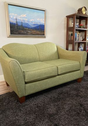 Spring green loveseat for Sale in Bend, OR