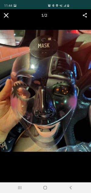 Clear plastic mask for Sale in San Antonio, TX