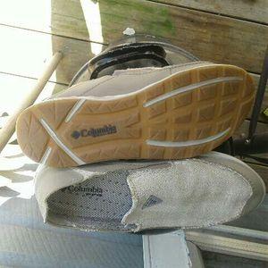 New Mens COLUMBIA techlite shoes for Sale in Van Buren, AR