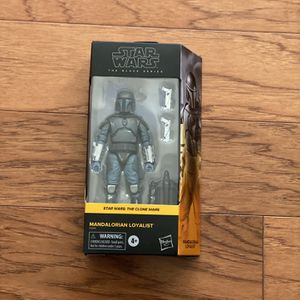 Star Wars Mandalorian Black Series Action Figure for Sale in San Diego, CA