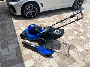 Kobalt 40V Mower and Blower Electric Lawn Mower for Sale in Davenport, FL