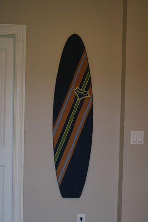 Pottery Barn Corkboard surfboard for Sale in Blacklick, OH