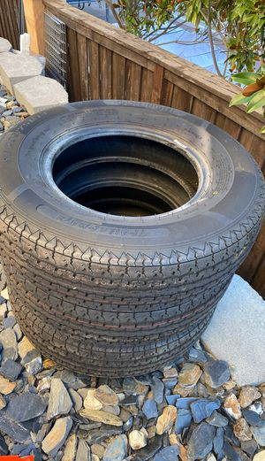 Oshion tires for trailer 205/75/R14 brand new never used for Sale in Auburn, CA