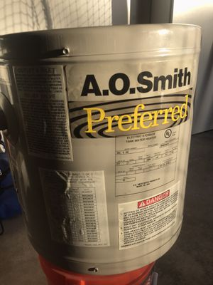 Commercial Electric Water heater, tankless, residential. for Sale in Mission Viejo, CA