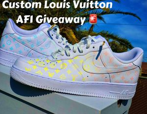 Custom Air Force 1s for Sale in Fresno, CA