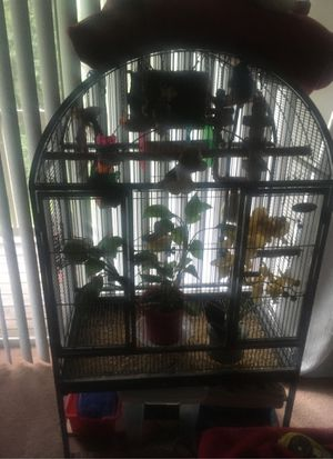 Large Bird Cage & Perot Toys for Sale in Washington, DC