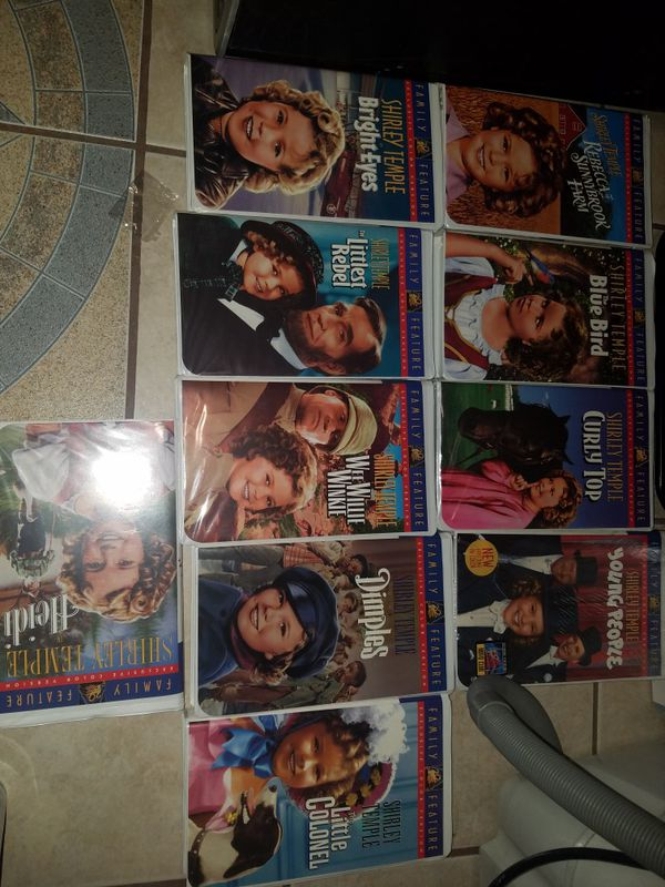 SHIRLEY TEMPLE VHS MOVIES