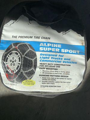 Alpine super sport chains for Sale in Cashmere, WA