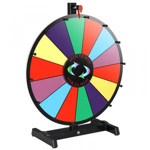 18 Dry Erase Spinning Color Prize Wheel Tabletop Fortune Carnival Game Editable for Sale in Canyon Lake, CA