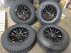 """Tacoma and 4Runner fj cruiser wheels and tires 17"""" 265/70/17 falken tires new for Sale in Ontario, CA"""