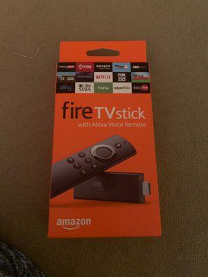 Amazon fire tv stick with Alexa voice remote for Sale in Provo, UT
