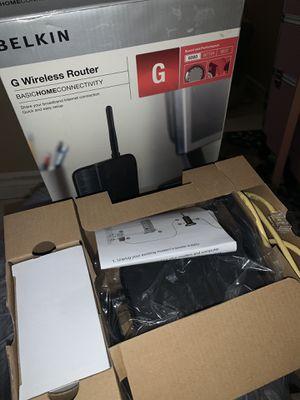 Belkin Wireless Router for Sale in Las Vegas, NV