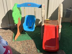 Little Tikes Hide & Seek Climber and Swing - Brown/Tan for Sale in Yorba Linda, CA