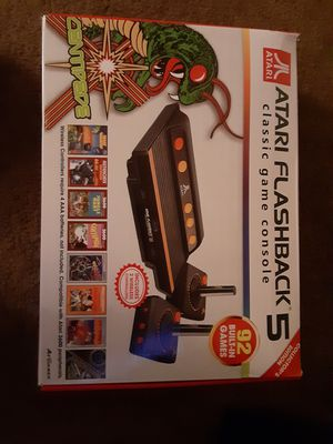 ATARI FLASHBACK 5. , 92 BUILT in games for Sale in San Diego, CA