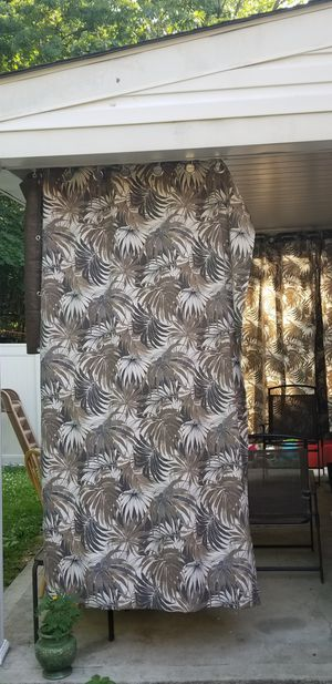 Out door curtains for Sale in Pittsburgh, PA