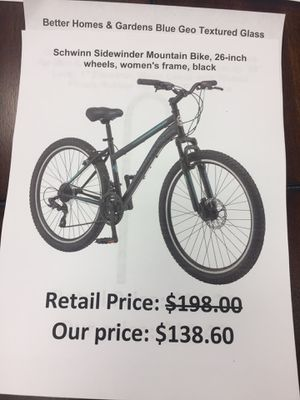 "Schwinn sidewinder mountain bike 26"" women's frame for Sale in San Leandro, CA"