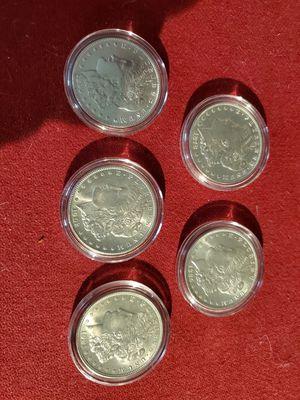 5 Morgan Silver Dollars for Sale in Houston, TX