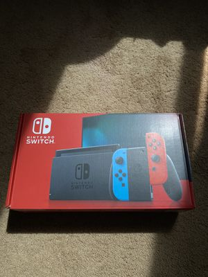 Brand new Nintendo switch blue & red joy-cons v2 for Sale in Vancouver, WA