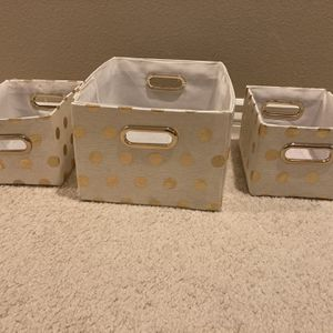Polk A Dot Storage Boxes for Sale in Corona, CA
