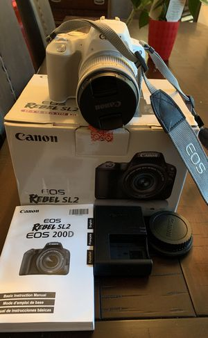Canon profesional camera for Sale in Gaithersburg, MD