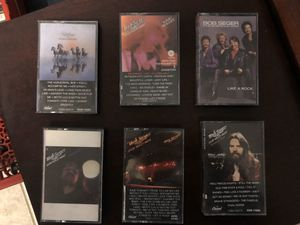 Bob Seger & the Silver Bullet Band set of six cassettes for Sale in Griswold, CT