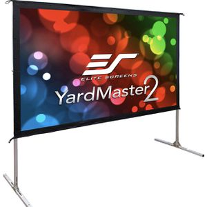 NEW 120 inch Outdoor Projector Screen w/ Stand- Elite Screens Yard Master 2, 16:9, 8K 4K Ultra HD 3D Fast Folding Portable Movie Theater Cinema 12 for Sale in Glendale, AZ