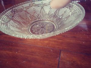 Crystal medium sized punch bowl for Sale in Tacoma, WA