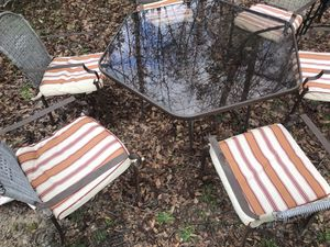 Outdoor glass table for Sale in Columbia, SC