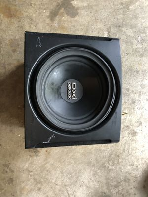 "Polk Audio 12"" Subwoofer and Alpine amp for Sale in Centreville, VA"
