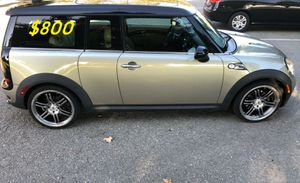 $800 URGENT I Selling 2009 MINI Cooper Clubman S,Very clean.Clean Tittle Runs and drives {url removed} issues!Clean title! for Sale in Washington, DC