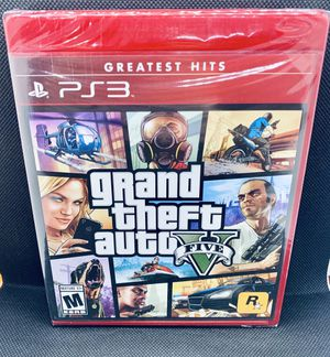 GRAND THEFT AUTO V Sony PlayStation 3 PS3 Brand New Factory Sealed GTA Rockstar Games for Sale in Puyallup, WA