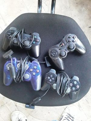 Ps2 Playstation 2 controllers $5 each best offer for all for Sale in Pompano Beach, FL
