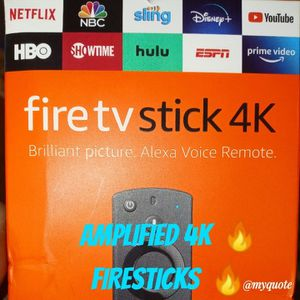 Amplified Amazon 🔥 4K Firesticks 🔥 for Sale in Bolingbrook, IL