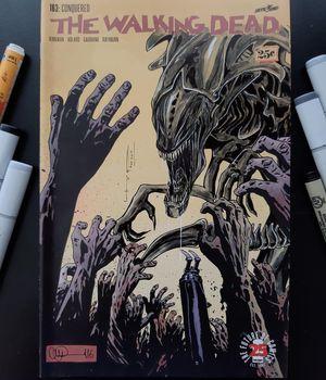 The Walking dead 163 Original sketch Art for Sale in Los Angeles, CA