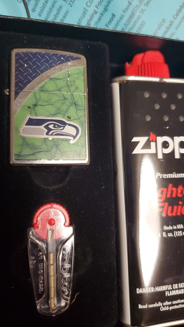 Seahawks zippo