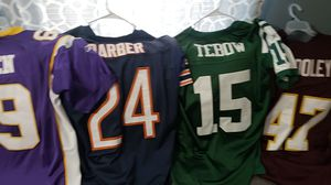 Football jerseys for Sale in Westport, MA
