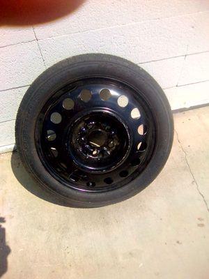 5 lug spare tire size 17 for Sale in Sacramento, CA