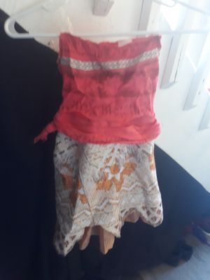 Moana costume size 5-6 girls for Sale in Denver, CO